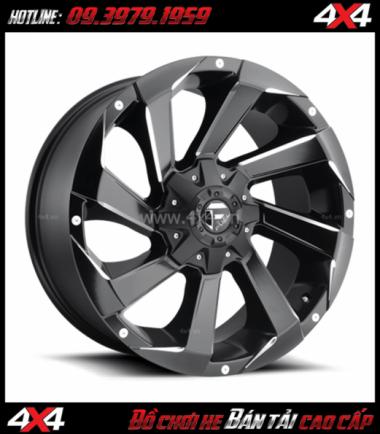 Tấm ảnh bán mâm 18 inch Mâm Fuel RAZOR D592 ngầu, đẳng cấp độ thể thao cho ô tô xe bán tải