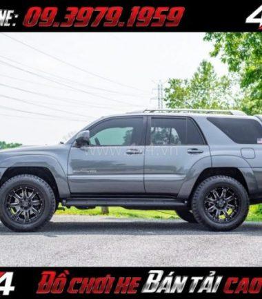 Bức ảnh: Mâm xe bốn bánh mạnh mẽ: Mâm Blackrhino Sierra Gloss Black 20 Inch dành cho xe pick up và SUV tại TpHCM
