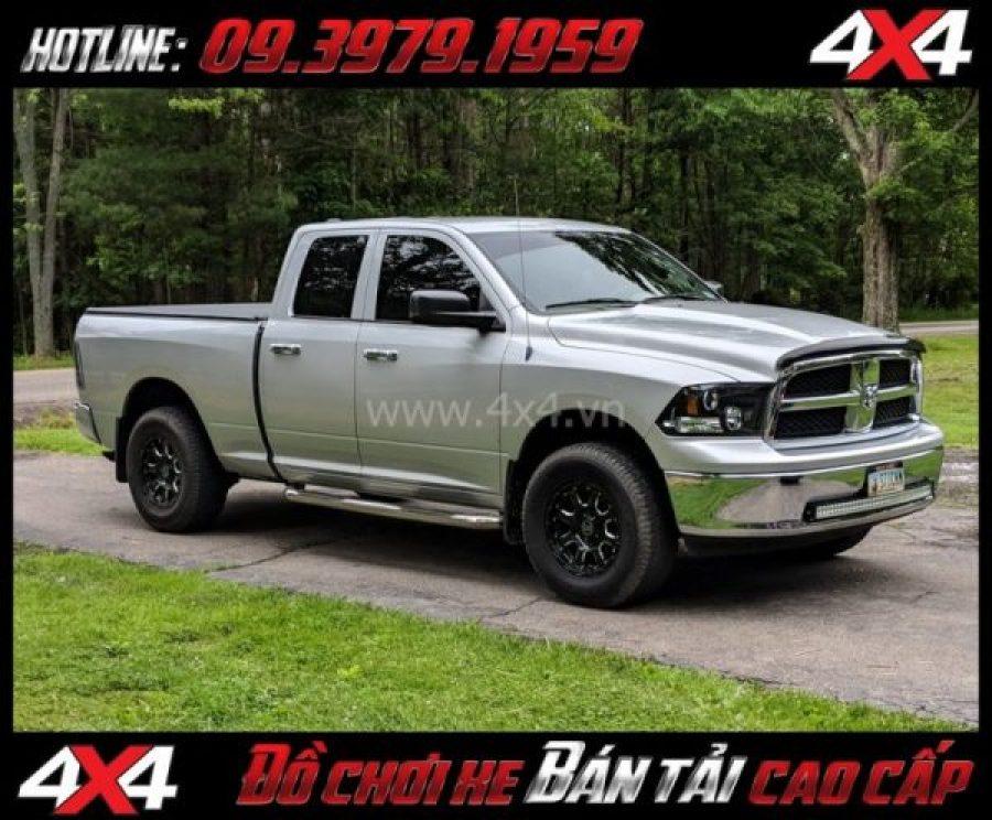 Tấm ảnh: Mâm xe bốn bánh mạnh mẽ: Mâm Blackrhino Sierra Gloss Black 20 Inch dành cho xe bán tải và SUV tại Tp.HCM