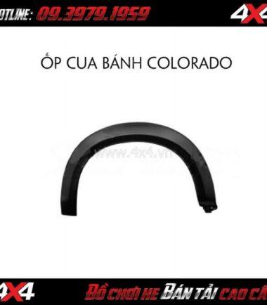 Ốp cua lốp loại mỏng dành cho xe bán tải Chevrolet Colorado tại HCM