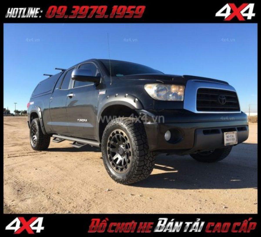 Tấm ảnh bán mâm 18 inch: : Mâm Black Rhino Razorback 18x9 ET-12 thay đẹp cho xe bốn bánh xe bán tải