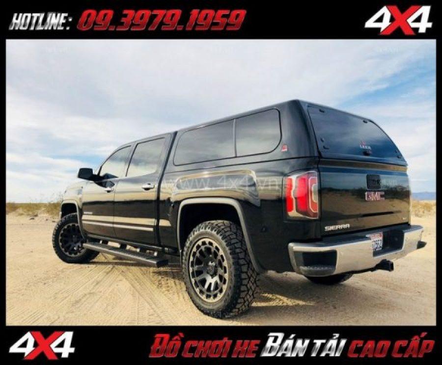 Picture bán mâm 18 inch : Mâm Black Rhino Razorback 18x9 ET-12 gắn đẹp cho xe 4 bánh xe bán tải