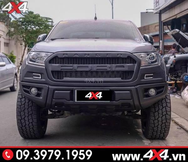 Body kit Raptor độ đẹp và hầm hố cho bán tải Ford Ranger 2018 2019