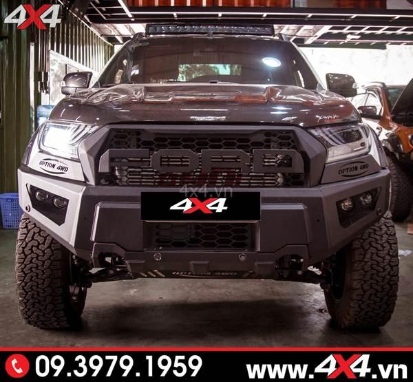 Đồ chơi xe Ford Ranger: Cản trước option 4wd mẫu có mặt nạ dành cho xe Ford Ranger tại HCM