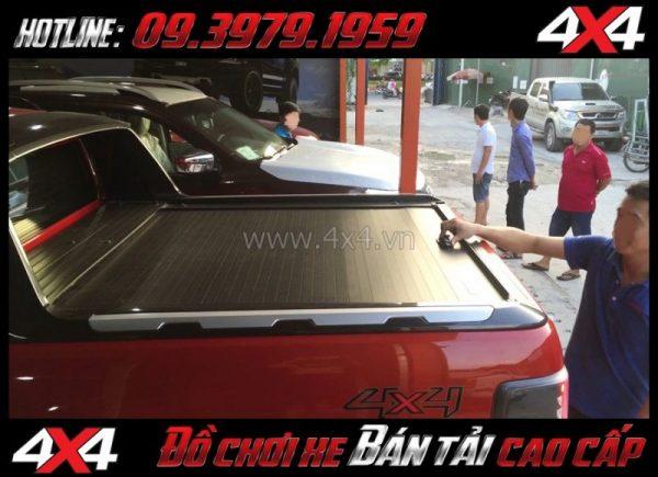 Picture: nắp thùng trượt (CB-744) cứng cáp, mạnh mẽ độ xe pickup tại HCM