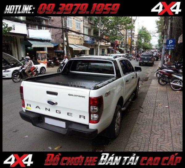 Bức ảnh nắp thùng cuốn (CB-744) mạnh mẽ, cứng cáp độ xe pick-up ở Tp Hồ Chí Minh
