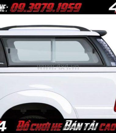 Bức ảnh: Nắp thùng cao CarryBoy G3 (G3E) cứng cáp giá rẻ dành cho xe pick-up tại Tp.HCM