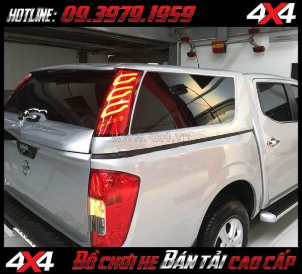 Photo: Nắp thùng cao CarryBoy GSE-V lắp đẹp và chất dành cho xe pickup ở TpHCM