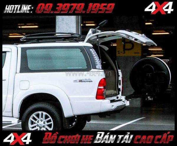 Image Nắp thùng cao CarryBoy LIFT 1 tiện lợi giá rẻ dành cho xe off-road tại HCM