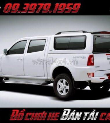 Nắp thùng cao CarryBoy Series 8 (S8) sang trọng giá rẻ dành cho xe bán tải