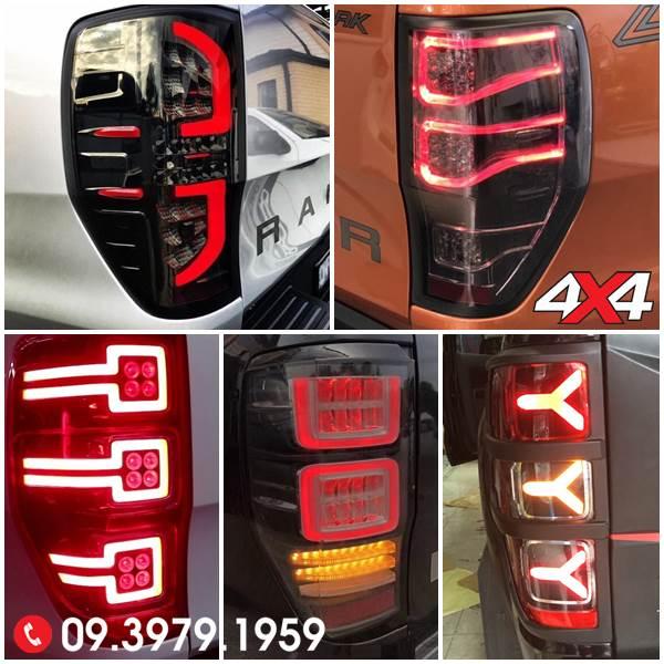 Những mẫu đèn hậu độ đẹp cho xe Ford Ranger Wildtrak, XLS, XLT 2018 2019