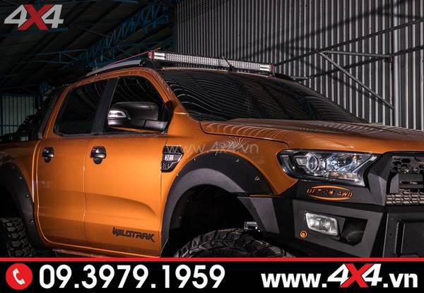 Đồ chơi xe Ford Ranger - Đèn led bar 12D đẹp và đẳng cấp gắn cho xe bán tải