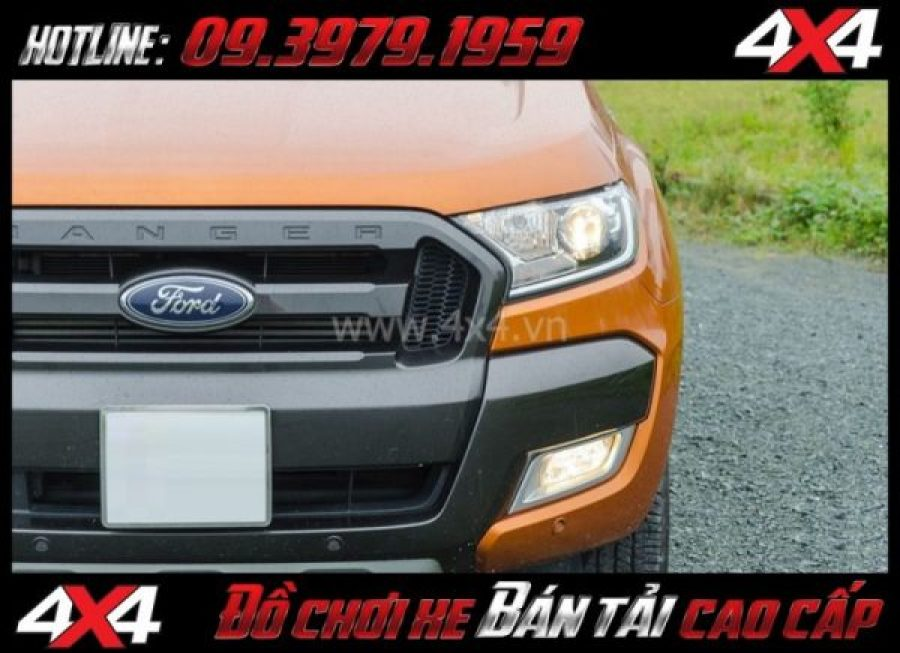 Cách tăng độ sáng cho Ford Ranger: Thay bóng tăng sáng giúp tăng 120% - 130% so với độ sáng ban đầu
