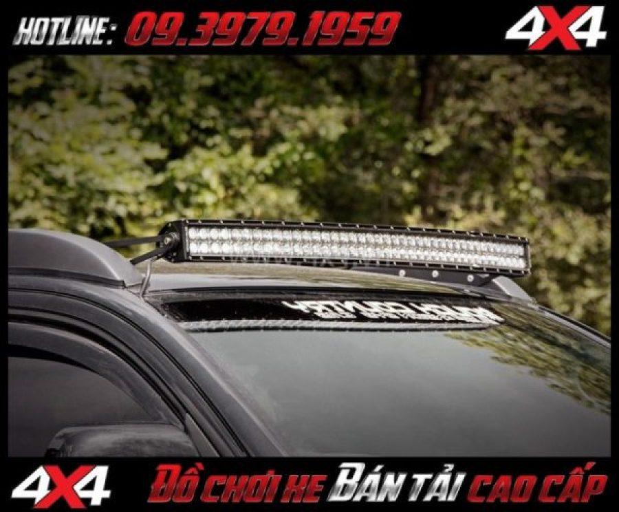 Image tăng sáng cho Ford Ranger 2018 2019: Led bar 10D thay đẹp và đẹp mắt cho xe bán tải Ford Ranger