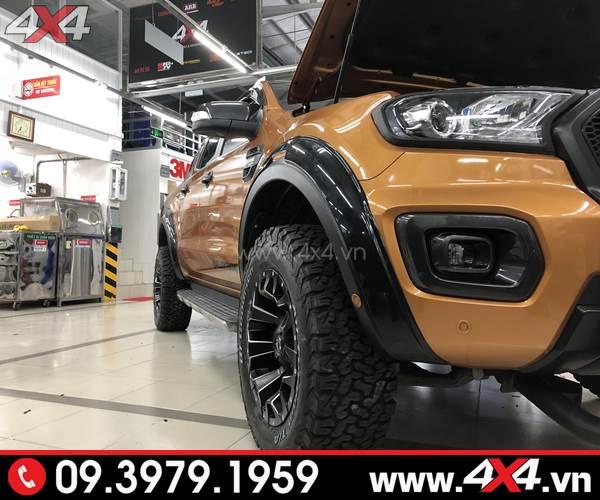 Đồ chơi xe Ford Ranger: Lốp BF Goodrich AT đẹp và đẳng cấp độ cho xe offroad