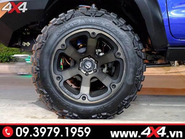 Đồ chơi xe Ford Ranger: Mâm Fuel Beast độ đẹp, ngầu, chất và cứng cáp cho xe bán tải