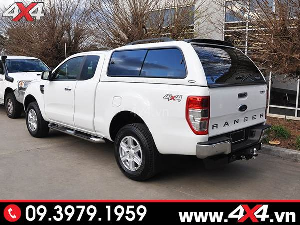 Đồ chơi xe Ford Ranger: Nắp thùng cao xe Ford Ranger CarryBoy S560 sang trọng và đẹp