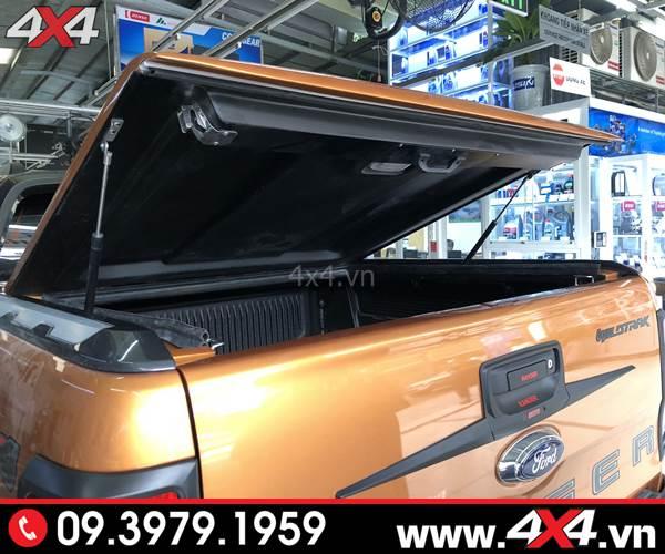 Đồ chơi xe Ford Ranger: Nắp thùng cơ xe Ford Ranger CarryBoy GRX hoặc SX thể thao và hầm hố