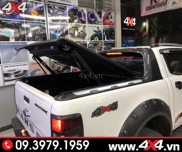 Đồ chơi xe Ford Ranger: Nắp thùng thấp tiện lợi và độ đẹp cho xe Ford Ranger