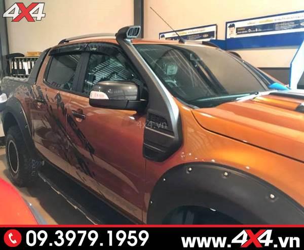 Xe bán tải Ford Ranger độ ống thở thêm ngầu và đẹp hơn rất nhiều