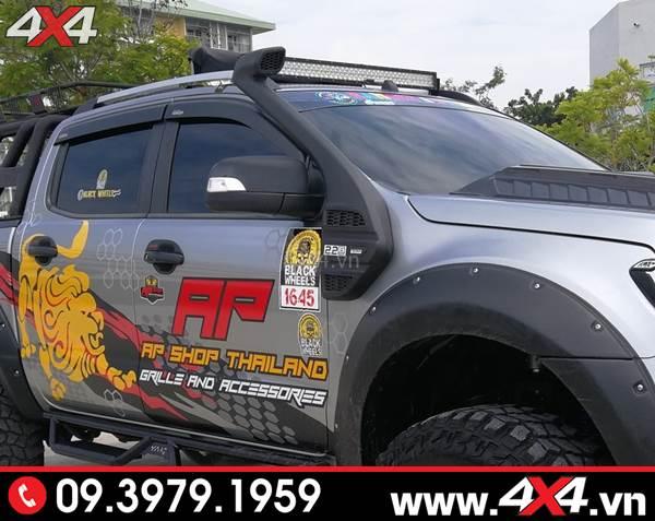 Đồ chơi xe Ford Ranger: Ống thở Ford Ranger tiện dụng và độ đẹp cho xe bán tải
