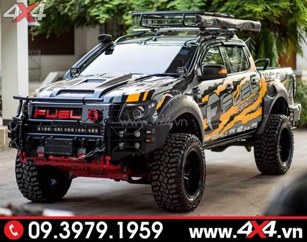 Tem dán xe Ranger: Mẫu tem Fuel đẹp và độc độ xe Ranger 2018 2019