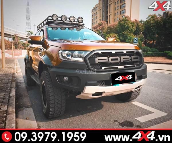 Chiếc bán tải Ford Ranger lên đời thành Ranger Raptor đẹp và ngầu