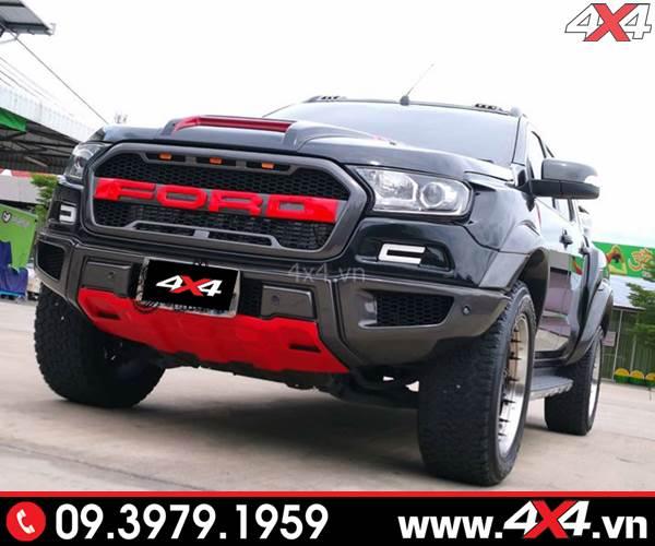 Trọn bộ Ford Ranger độ phong cách Raptor Raptor dành cho xe XLS, XLT, Wildtrak