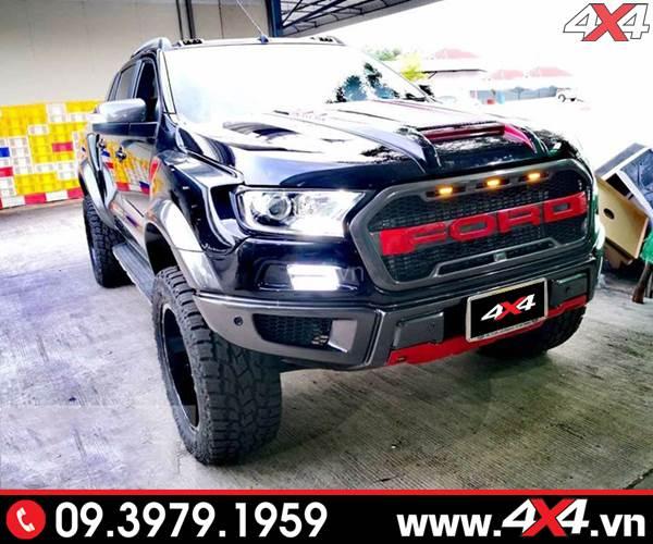 Body kit Ford Ranger Raptor full độ đẹp, đẳng cấp và hầm hố