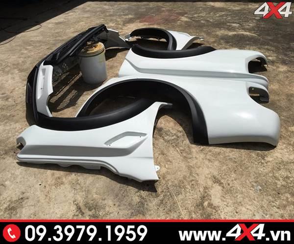 Bộ body kit độ full dành cho xe bán tải Ranger XLT, XLS, Wildtrak