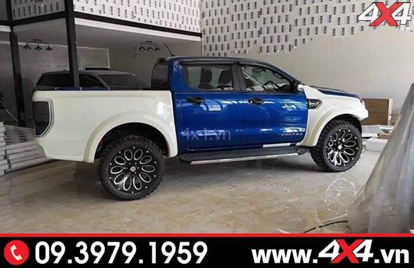 Bộ Ford Ranger độ phong cách Raptor full lên đời thành Ranger Raptor cho xe XLT, XLS, Wildtrak
