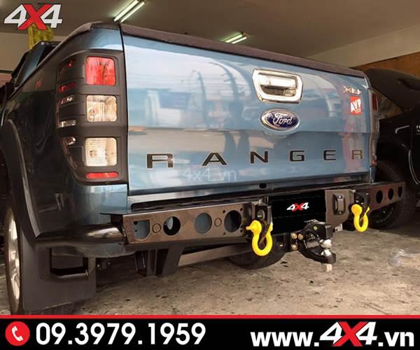 Cản sau Ranger độ: Cản sau YAK độ cứng cáp và đẹp cho bán tải