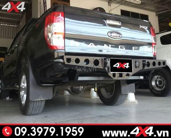 Độ Cản sau độ Ford Ranger: Chiếc bán tải Ford Ranger độ cản sau đẹp, hầm hố và cứng cáp