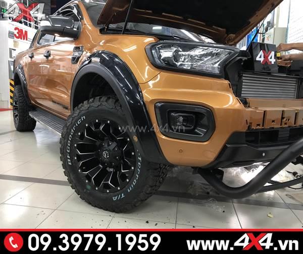 Lazang độ Ford Ranger: Mâm Fuel Assault đẹp độ cho xe bán tải tại 4x4