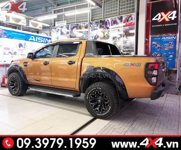 Mâm Ford Ranger độ: Mâm Fuel Assault độ đẹp và cứng cáp dành cho xe bán tải