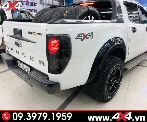 Ốp viền cua lốp Ford Ranger FITT Thái Lan loại trơn độ đẹp và cứng cáp cho xe Ranger