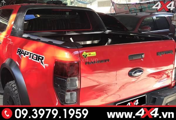 Khung thể thao Ford Ranger Wildtrak dành độ cho xe XLS, XLT, Raptor 2018 2019