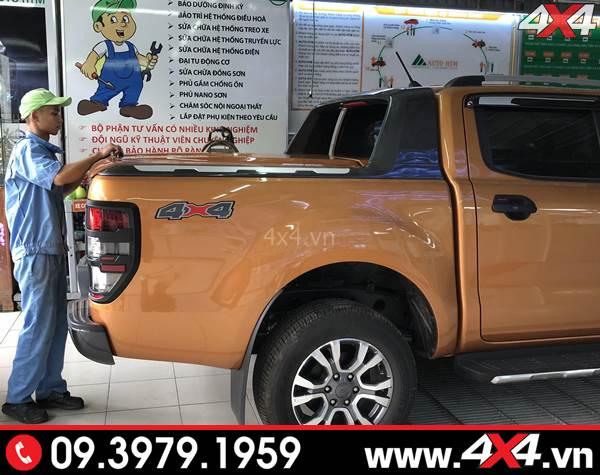 Thanh thể thao Ford Ranger Wildtrak gắn đẹp và cứng cáp cho xe bán tải Ford Ranger XLT, XLS, Raptor 2018 2019