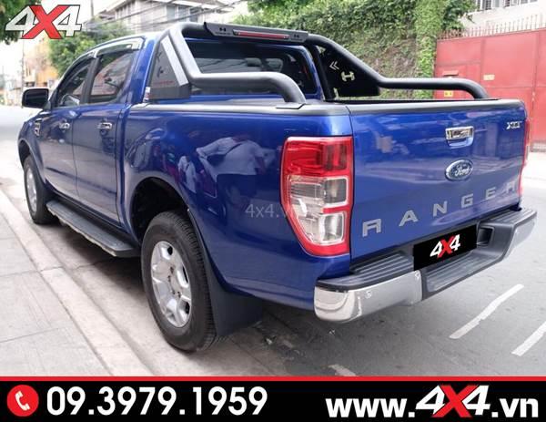 Khung thể thao Ford Ranger Hamer độ ngầu và cứng cáp cho xe bán tải