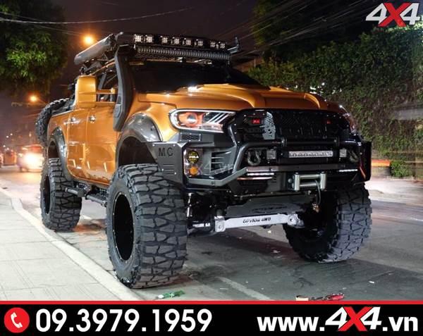 Chiếc bán tải Ford Ranger độ cực khủng với nhiều món đồ chơi đẹp - Hình 20