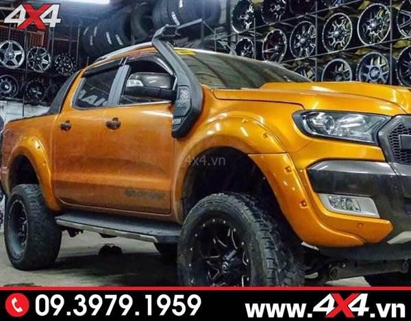Chiếc bán tải Ford Ranger độ đẹp, đẳng cấp và chất với ống thở cho Ford Ranger