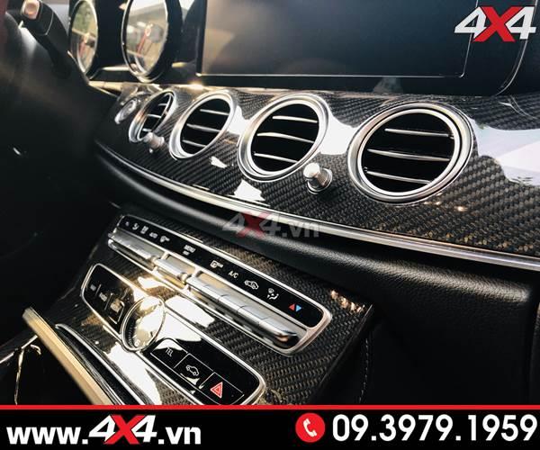 Mercedes Benz W205 C200 C250 C300 độ ốp nội thất carbon fiber full option