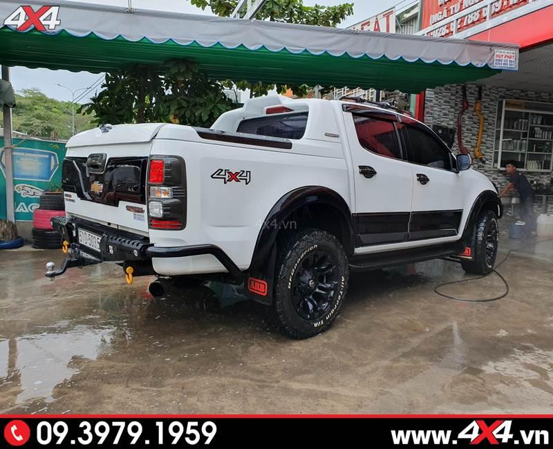 Chevrolet Colorado độ Ốp cua lốp màu đen giúp tạo điểm nhấn, tăng phần cứng cáp và hầm hố cho xe