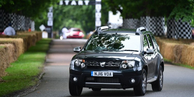 Dacia Duster @ Goodwood Festival of Speed