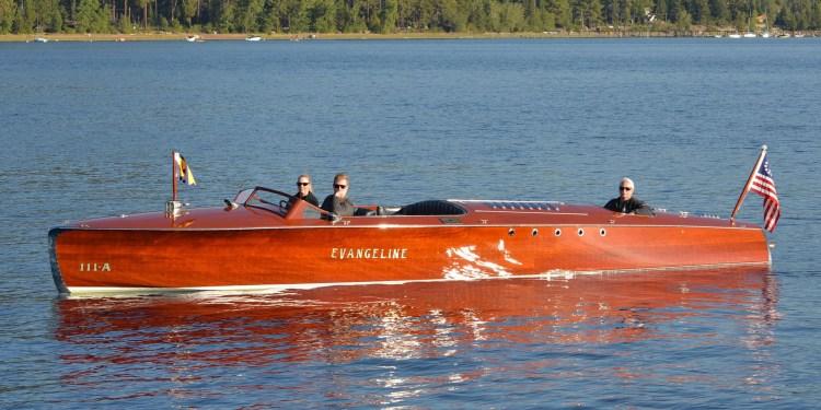 Evangeline, barca lui Henry Ford