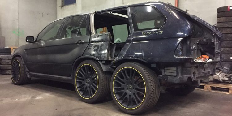 BMW X5 6x6 by Nautiluz Creation