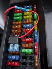 4x4 Icon - Relay Activation Lead Piggy-back fuse holder