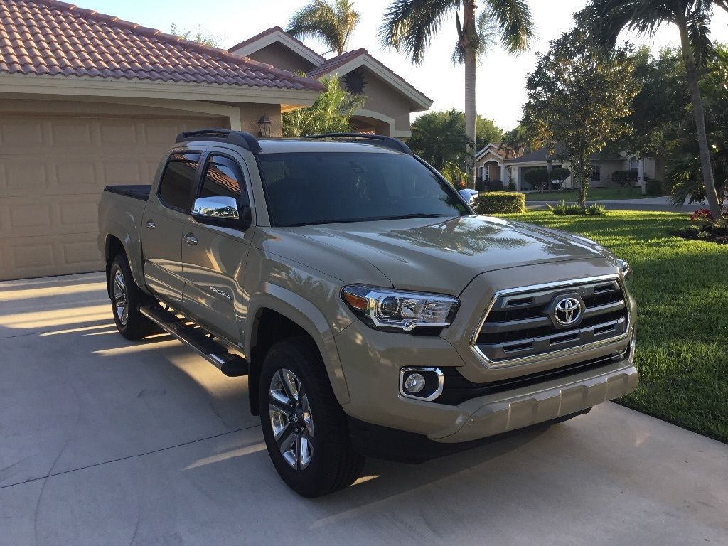 Almost new 2016 Toyota Tacoma Limited 44 for sale