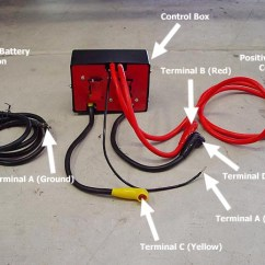 3 Pickup Wiring Diagram How To Draw Phasor Of Transformer T-max Ew-9500 Electric Winch - Jeep