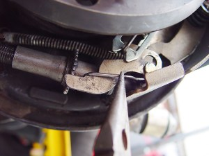 rear drum brake adjuster lever help  JeepForum